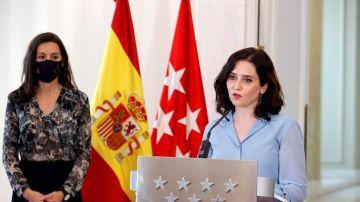 Díaz Ayuso y Aguado, entrevistados por Carlos Alsina: última hora de las elecciones en Madrid, en directo