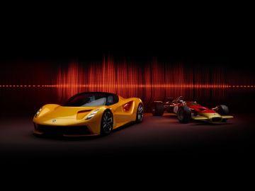 Lotus Evija y Lotus Type 49