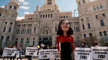 Protestas en defensa de la sanidad pública en Madrid