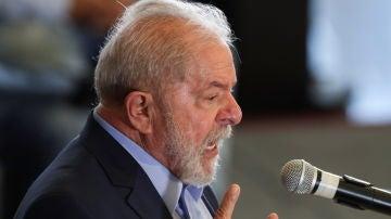 Lula da Silva, durante un acto