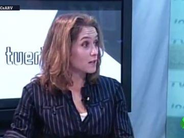 Isabel Díaz Ayuso en el programa 'La Tuerka'