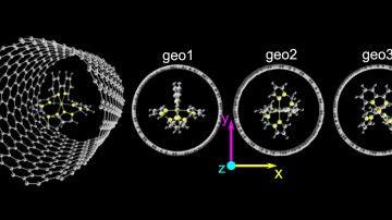Como colocar el interruptor de spin mas pequeno dentro de un nanotubo