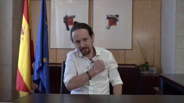 """El anuncio de Iglesias a los militantes: """"Propongo a Errejón una candidatura única para Madrid"""""""
