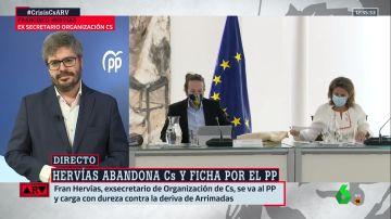 Fran Hervías, nuevo fichaje del PP, en ARV