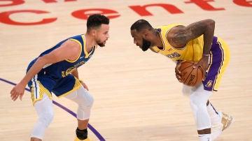 Curry y LeBron