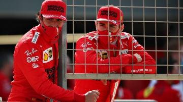 Sainz y Leclerc