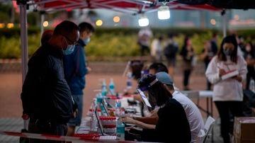 Test masivos en Hong Kong, China