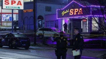 Uno de los centros asiáticos donde ocurrieron los tiroteos en Atlanta