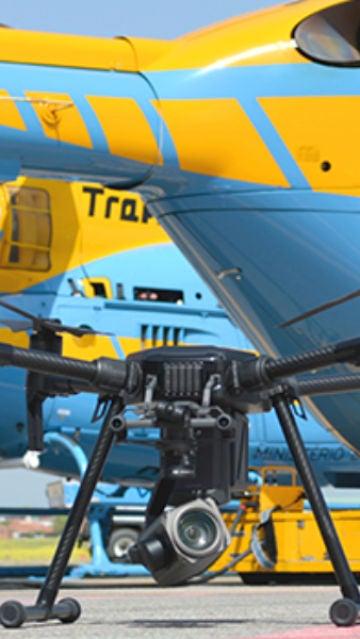 Semana Santa: así vigilarán los drones de la DGT las carreteras