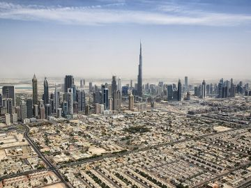 Panorámica de Dubái