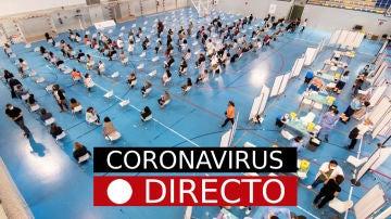 COVID-19 | Vacuna de AstraZeneca en España y medidas de Semana Santa por coronavirus, en directo