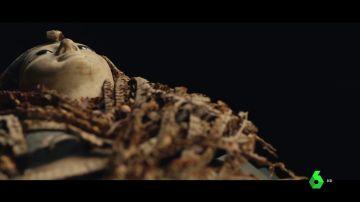 Imagen de una momia egipcia