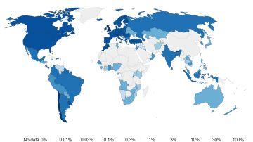 Vacunación en el mundo