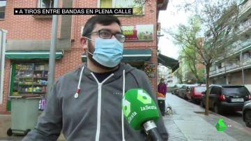 """Hablan los vecinos de Ciudad Lineal tras ser testigos de un tiroteo en plena calle: """"Dijimos 'están matando gente'"""""""