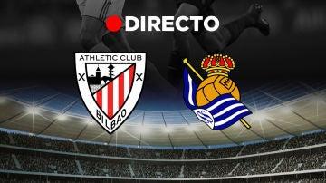 Athletic Club de Bilbao - Real Sociedad: Final de la Copa del Rey de fútbol, en directo