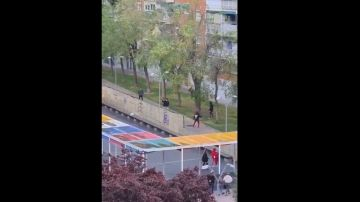 Pelea a machetazos en Alcorcón