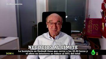 """La crítica del empresario Antonio Mayor a la gestión de la pandemia: """"Les estamos haciendo un gran favor a nuestros competidores"""""""