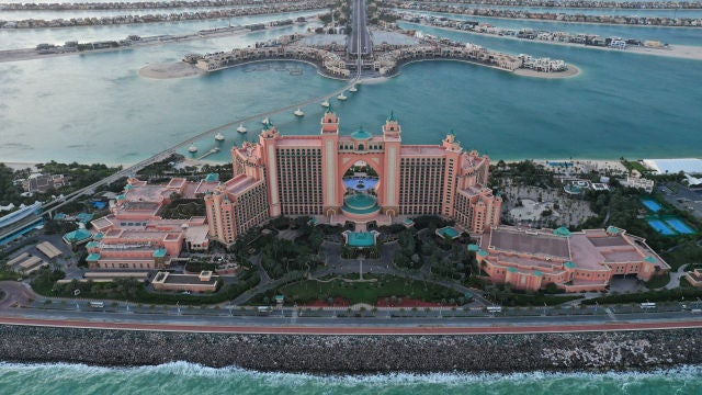 Atlantis. The Palm