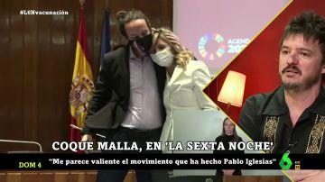 """¿Cree Coque Malla que va a volver el bipartidismo? """"España es un país dividido en dos históricamente"""""""
