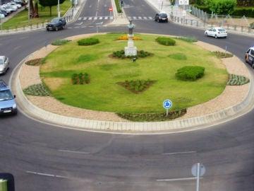 circular por rotonda