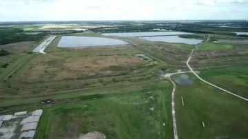 La zona de Tampa Bay (Florida) amenazada por la fuga de agua contaminada
