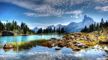 Lago Federa. Dolomitas