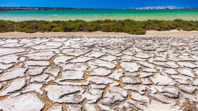 Laguna Estany Pudent. Parque Natural de Ses Salines (Ibiza y Formentera)