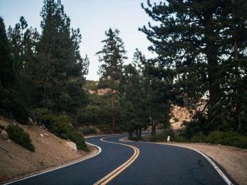 Carretera con curva