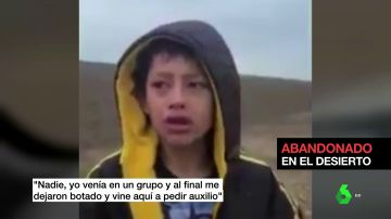 """""""Me pueden robar o secuestrar, tengo miedo"""": el desgarrador testimonio de un niño migrante perdido en la frontera de México con Estados Unidos"""