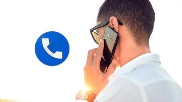 Activa las opciones en Teléfono de Google