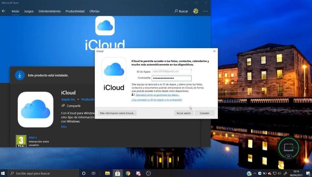 iCloud en Windows