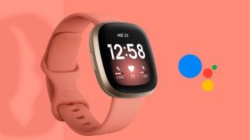 Uno de los relojes de Fitbit
