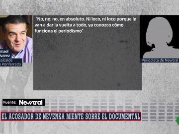 Extracto de la conversación de Newtral con Ismael Álvarez