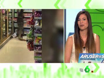 La bióloga Evelyn Segura desvela el misterio del lagarto que se coló en un supermercado