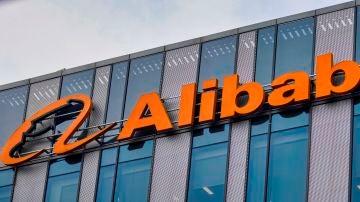 Fachada de la sede de Alibaba en Shanghái (China)