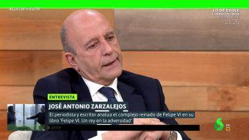 """José Antonio Zarzalejos habla de posibles """"sorpresas"""" en las investigaciones al rey emérito: """"Hay indicios de un patrimonio en Jersey"""""""