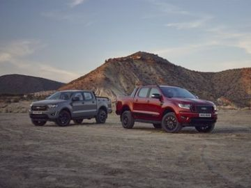 Ford Ranger Stormtrak y Wolftrack