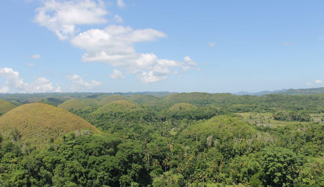 Chocolate Hills. Bohol