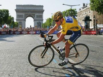 Lance Armstrong en el Tour de Francia