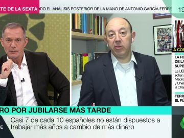 """Gonzalo Bernardos: """"Como uno vive más años, tiene que jubilarse necesariamente más tarde, es lo que hay"""""""