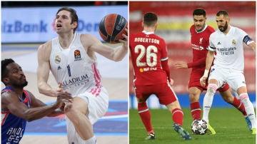 Partidos de Euroliga y Champions League