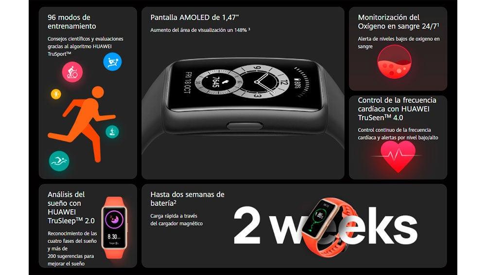 Ya puedes comprar la Huawei Band 6 en España, una alternativa a la Mi Band