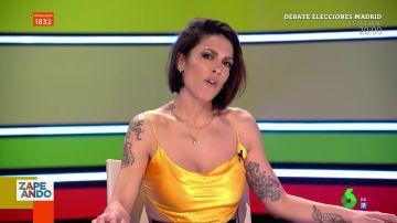 La exitosa imitación de Lorena Castell con acento colombiano que sorprende al plató de Zapeando