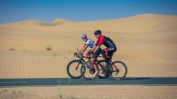 Rutas en bicicleta. Dubái