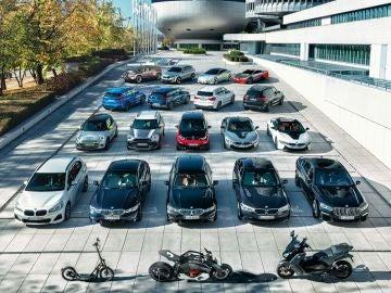 Gama eléctrica de BMW