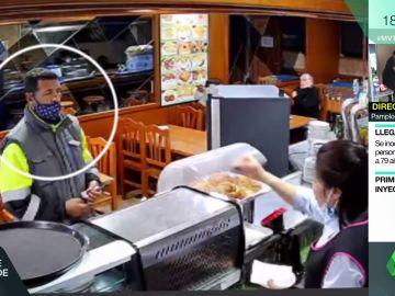 Detenido ladrón camareros