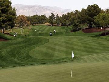Campo de golf de Las Vegas, Nevada.
