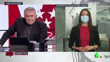 """Al rojo vivo (22-04-21) Arrimadas: """"El CIS deja en un puñado de votos que Ciudadanos sea decisivo en Madrid"""""""