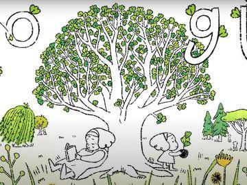 Así es el doodle interactivo de Google para celebrar el Día de la Tierra