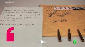 Del calibre de las balas al matasellos: estas son las pistas que podrían conducir al autor de las amenazas a Iglesias, Marlaska y Gámez
